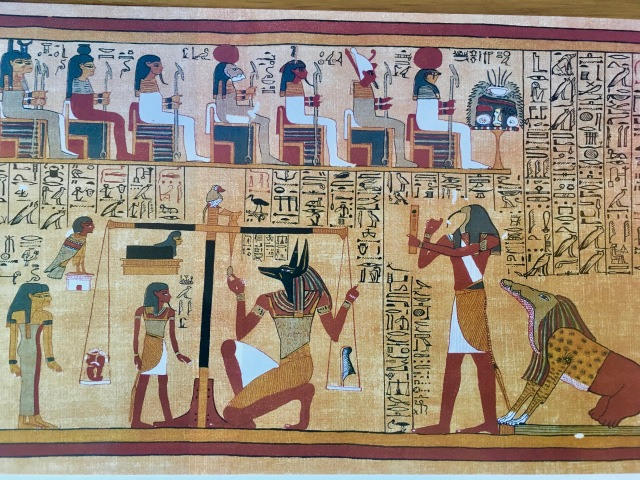 The Ancient Egyptian weighing of the heart ceremony (1).jpg