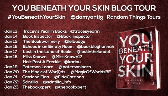 You Beneath Your Skin BT Poster