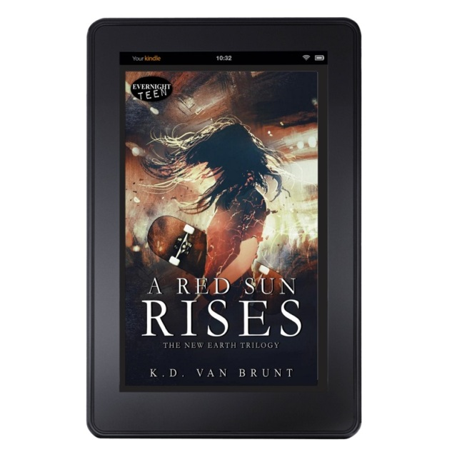 A Red Sun Rises on tablet 2