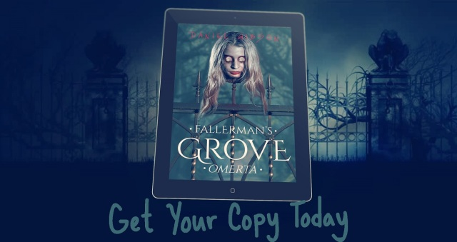 Fallermans Grove Omerta on tablet get your copy today