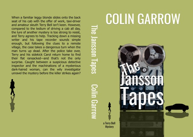 The Jansson tapes PAPERBACK cover April 2020