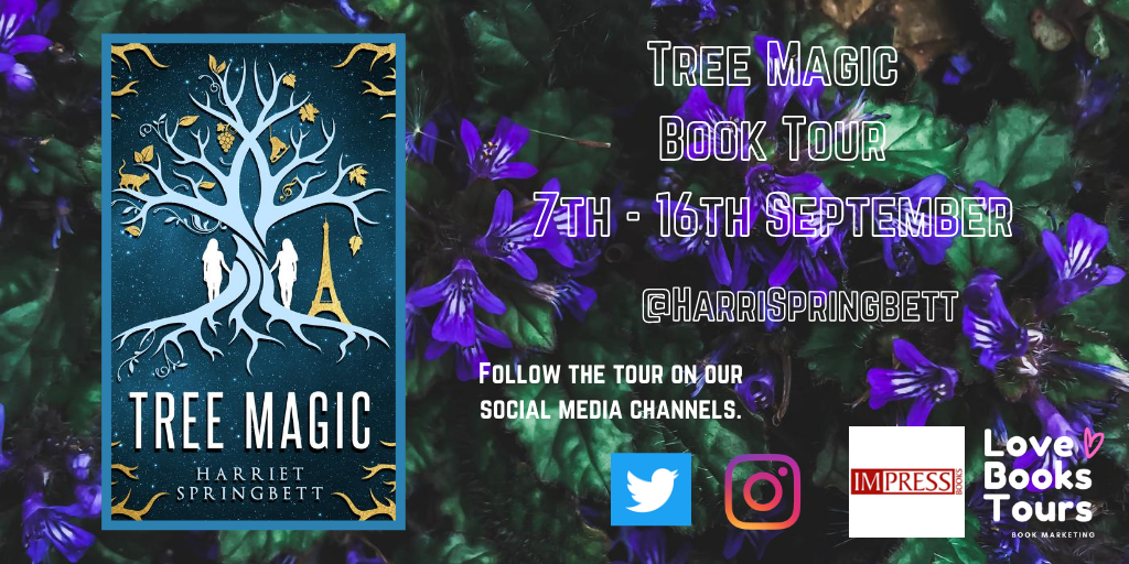 Book Tour -Tree Magic - Twitter