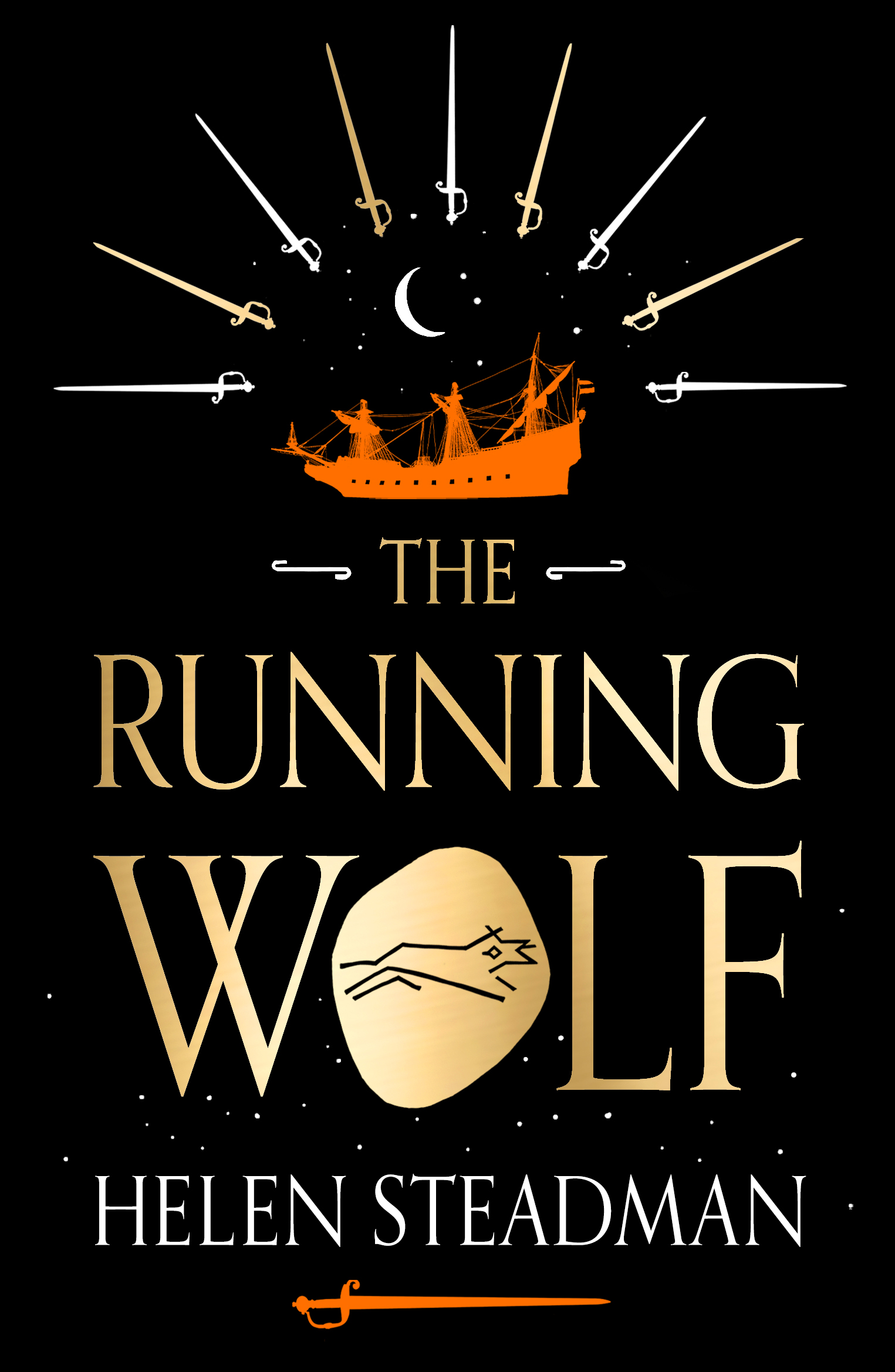 Running Wolf front cover