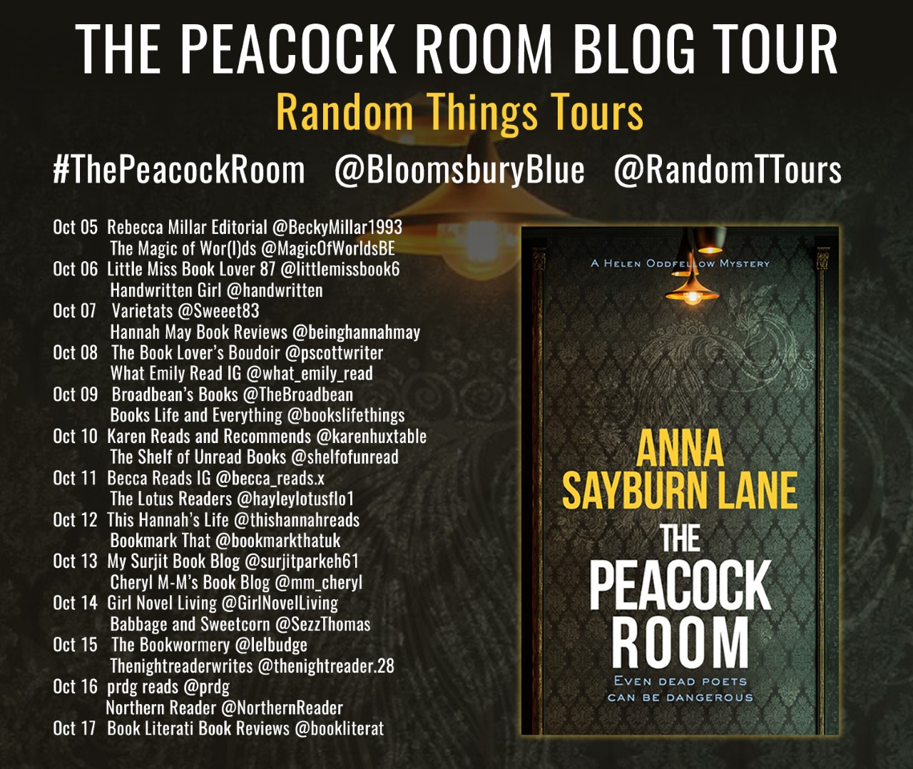 The Peacock Room BT Poster