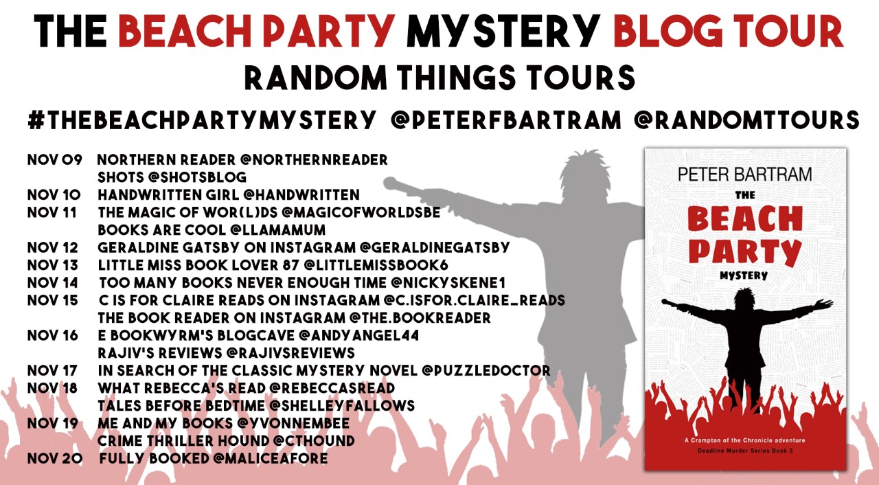 Beach Party Mystery BT Poster