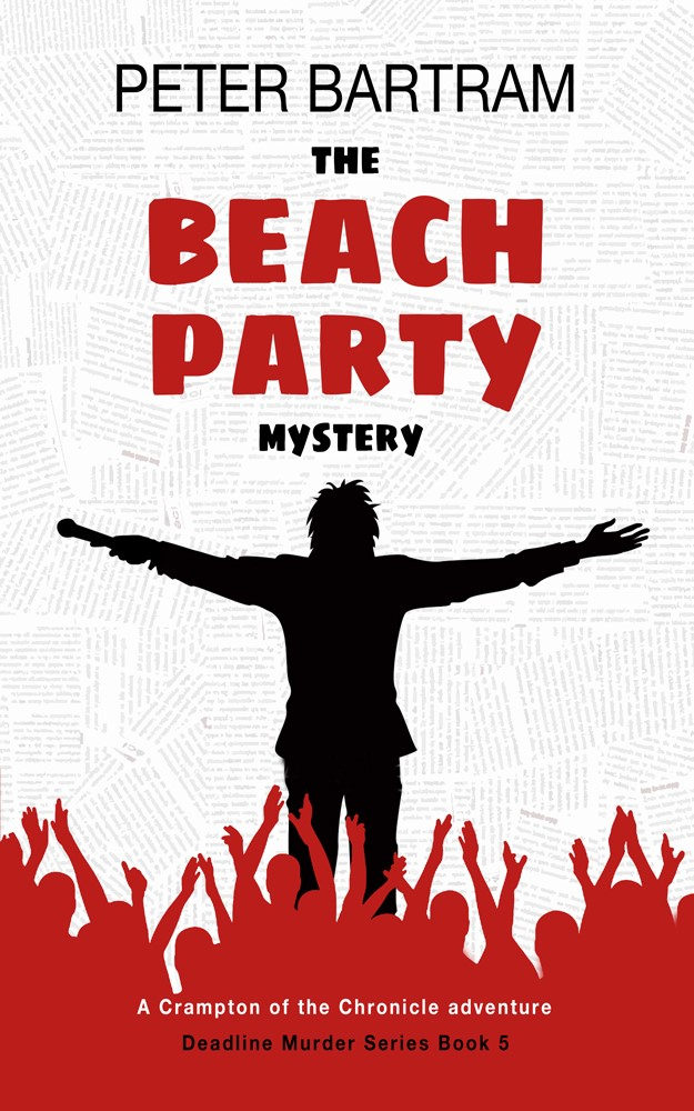 The Beach Party Mystery Cover