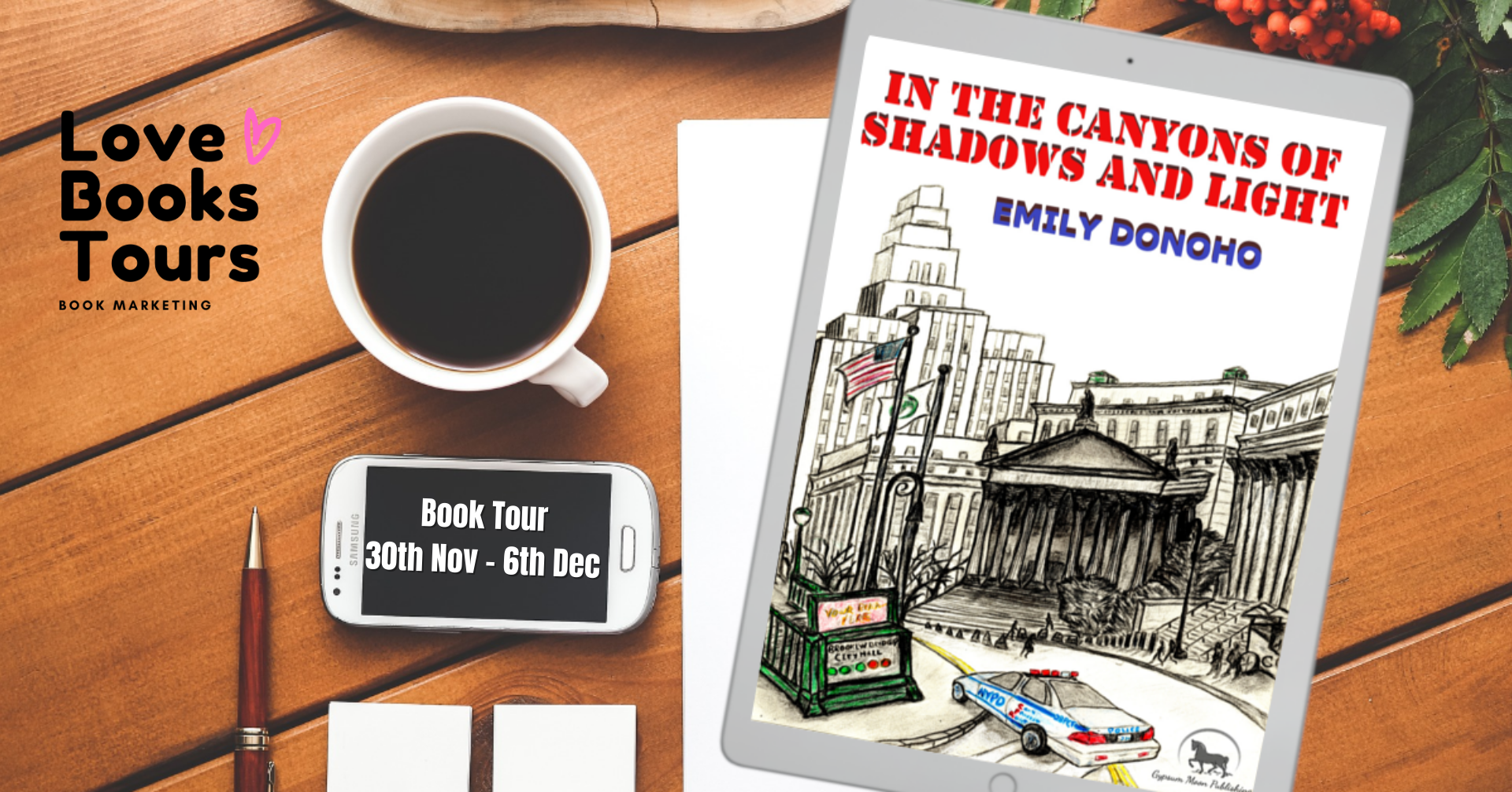 In the Canyons of Shadow and Light - Tour Twitter