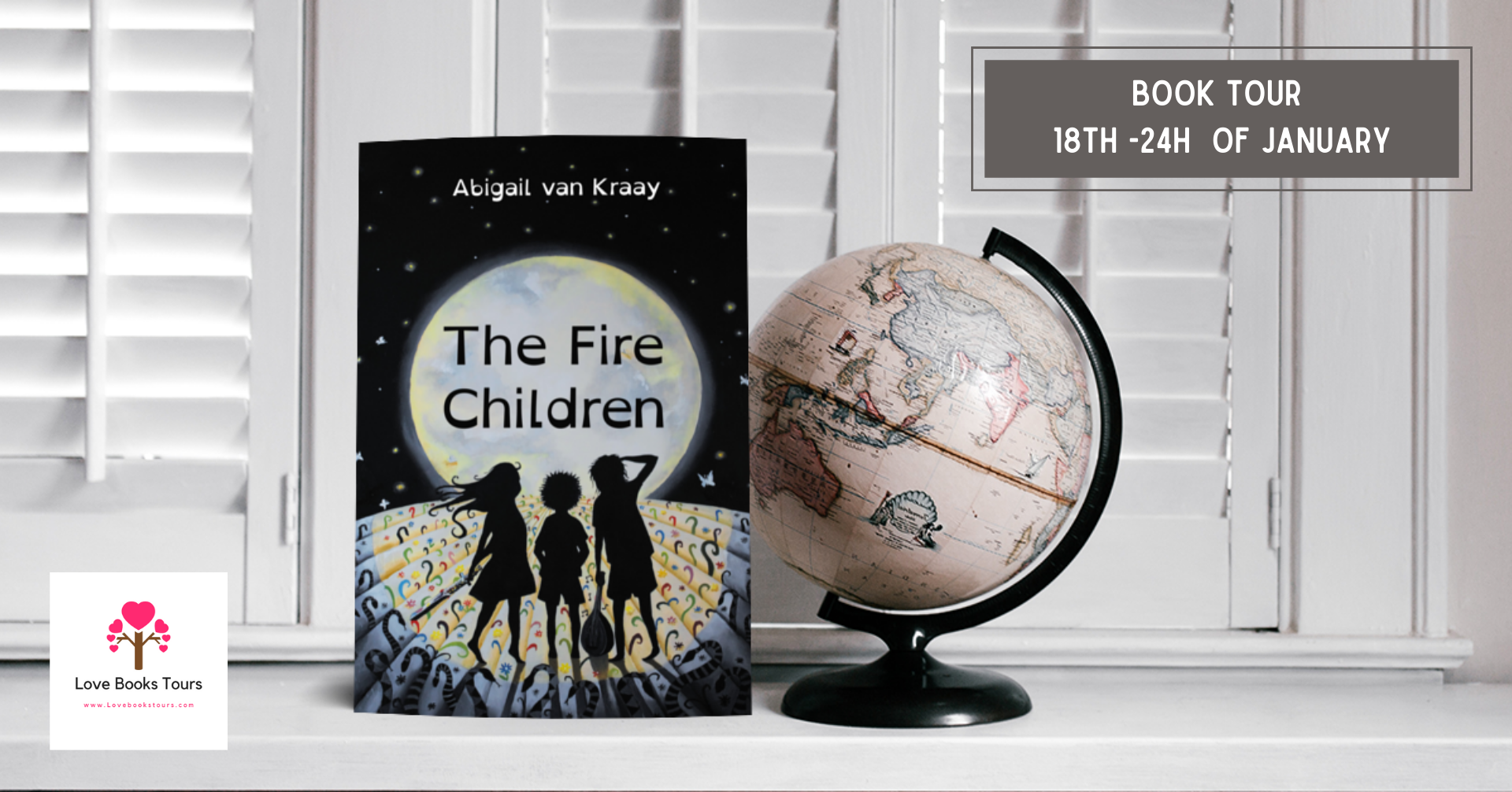 The Fire Children Book Tour