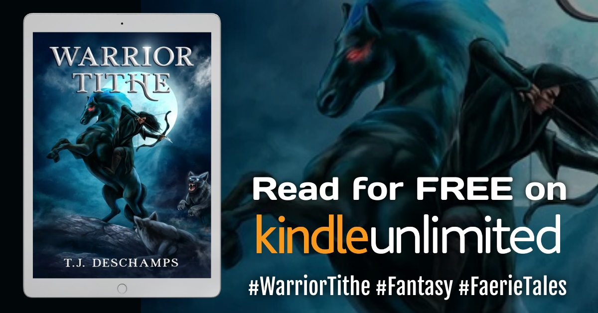 Warrior Tithe Read Free Kindle Unlimited with Hashtags