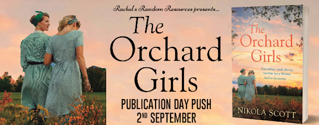 The Orchard Girls - Publication Day Push